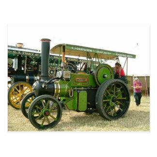 tractor del vintage tarjetas postales