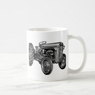 Tractor del vintage taza