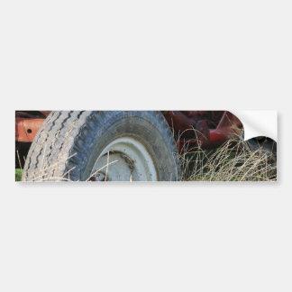 tractor details bumper sticker
