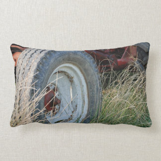 tractor details lumbar pillow
