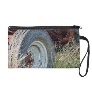 tractor details wristlet purse
