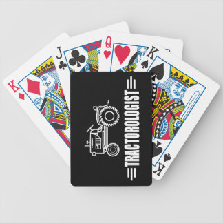 Tractor divertido baraja cartas de poker