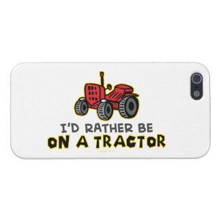Tractor divertido iPhone 5 carcasas