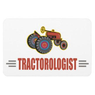 Tractor divertido iman de vinilo