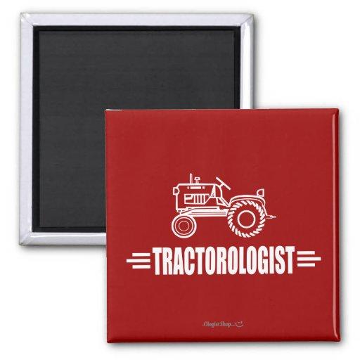 Tractor divertido imanes para frigoríficos