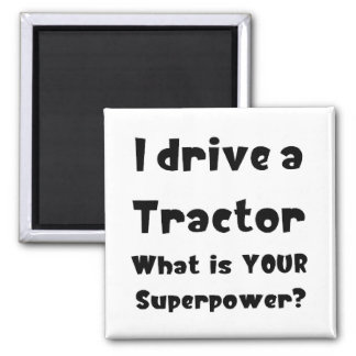 Tractor driver magnet