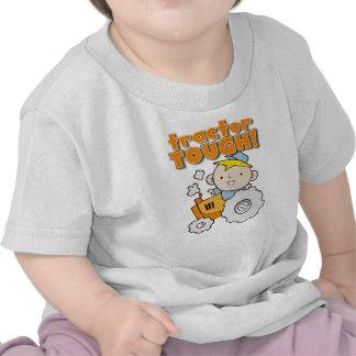 Tractor duro camisetas