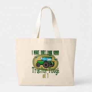 Tractor duro en 1 bolsas de mano