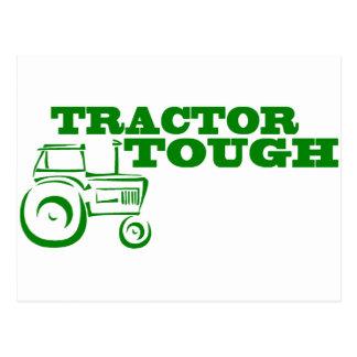 Tractor duro tarjeta postal