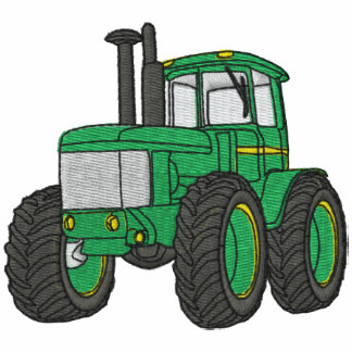 Tractor Embroidered Shirt