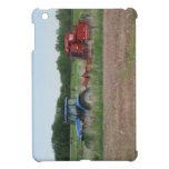 Tractor en el campo iPad mini carcasa