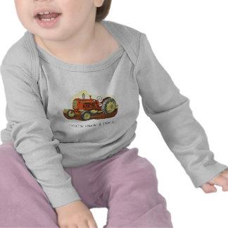 tractor,….ése es cómo ruedo camiseta
