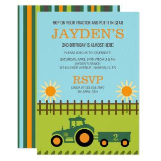 tractor_farm_birthday_party_invitation rd6ab3854304c49edb7b9886dec68d27d_6gduf_324?rlvnet=1 tractor birthday invitations & announcements zazzle,Tractor Birthday Party Invitations