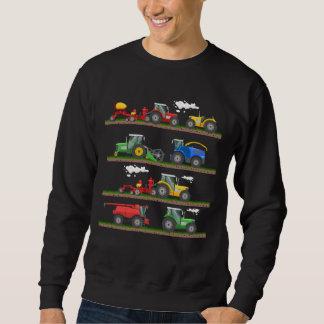 Tractor farming combine harvester  agriculture sweatshirt