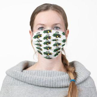 Tractor Farming Farmer Pattern Work Adult Cloth Face Mask