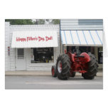 Tractor Father's Day Card -- Customizable