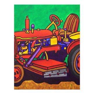 Tractor feliz por Piliero Tarjeta Publicitaria