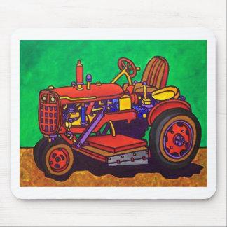 Tractor feliz por Piliero Alfombrillas De Raton