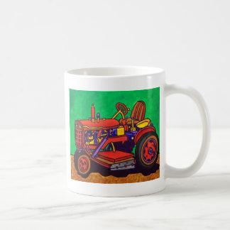 Tractor feliz por Piliero Tazas