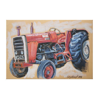 Tractor Ferguson BZ126 Canvas Print