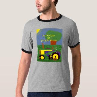 Tractor fishing  T-shirt