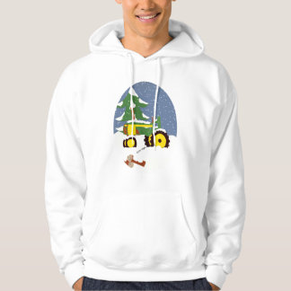 Tractor for Winter Hoodie