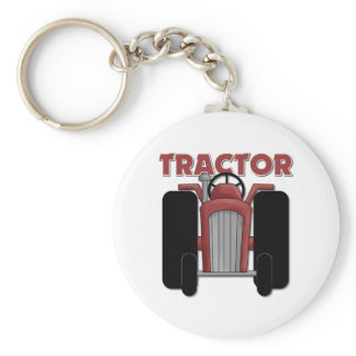 Tractor Gift For Kids Keychain