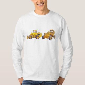 Tractor Grader Men's Long Sleeve T-Shirt