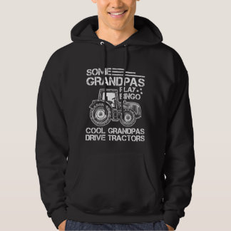 Tractor Grandfather Farmer Ranch Grandparents Hoodie