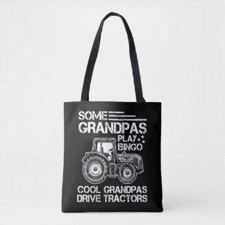 Tractor Grandfather Farmer Ranch Grandparents Tote Bag