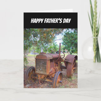 Tractor- Happy Fathers Day- Special In Every Way Card