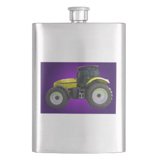 tractor hip flask