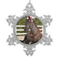 Tractor Horse Ornament