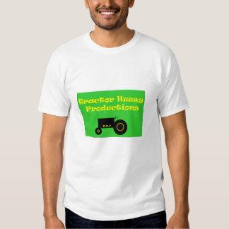 tractor hussy logo t-shirt