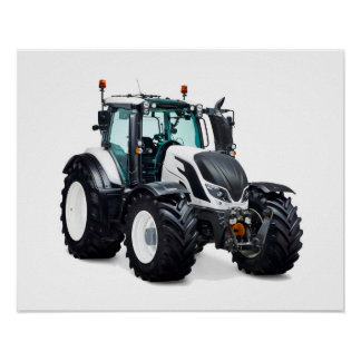 Tractor image for poster