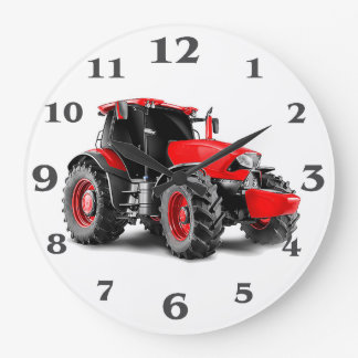 Tractor image for Round-Large-Wall-Clock Large Clock