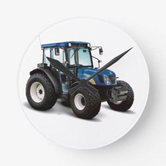 Tractor image for Round (Medium) Wall Clock