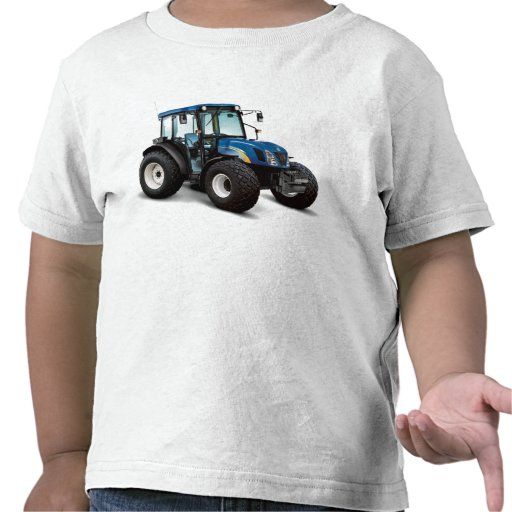 Tractor image for toddler t-shirt
