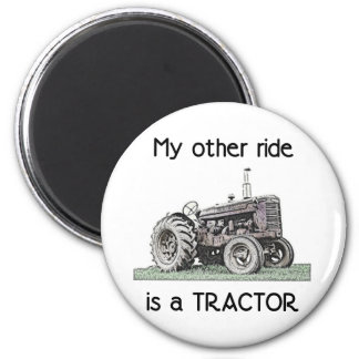 Tractor Imanes De Nevera