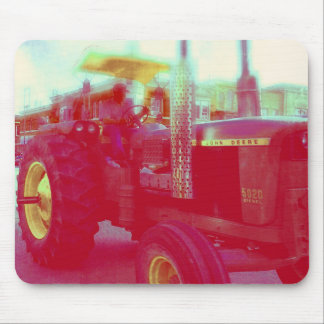 Tractor in a parade mouse pad