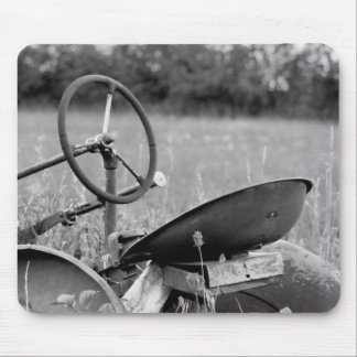 Tractor in Long Grass Mouse Pad