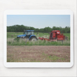 Tractor in the Field Mouse Pad