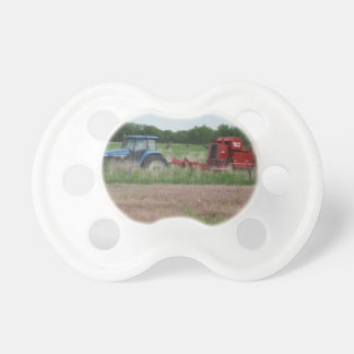 Tractor in the Field Pacifier