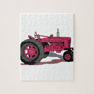 Tractor Jigsaw Puzzle