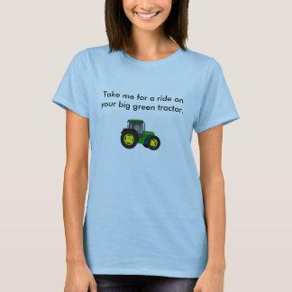 tractor.jpg verde grande, me toma para un paseo en playera