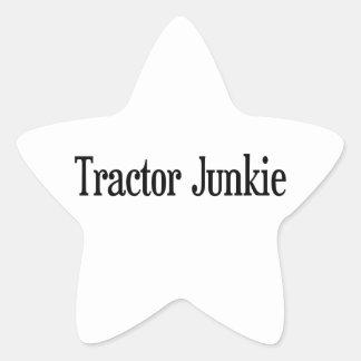 Tractor Junkie Star Sticker