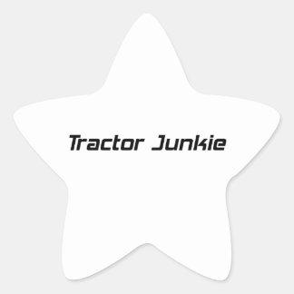 Tractor Junkie Tractor Gifts By Gear4gearheads Star Sticker