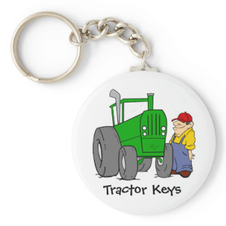 Tractor Keys Keychain