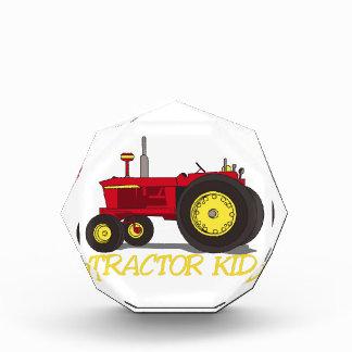 Tractor Kid Acrylic Award