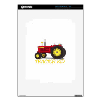 Tractor Kid Decals For The iPad 2